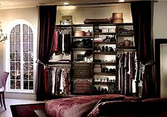 Closet ideas. what i was gunna have to do since my closet is oh so small!
