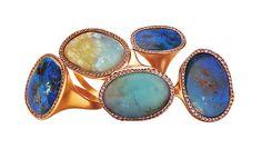 Opal Rings by Monique Péan