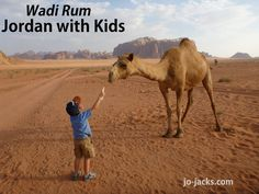 Our trip to Jordan with kids was one of the best family vacations of all. People are often shocked to hear this.They have no idea! Ruins, desert, and fun! Best Family Vacations, Family Travel, Camel Craft, Wadi Rum Jordan, Kids Jordans, Middle East, Travel Inspiration, Crafts For Kids, Fun
