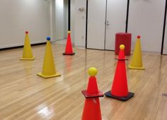 """""""This is a fun game is similar to capture the flag, but for students of all levels and abilities, including those in wheelchairs. It gives students a chance to work on directional cues, mobility skills, and orientation skills, while having the opportunity to maneuver around in an open space."""""""