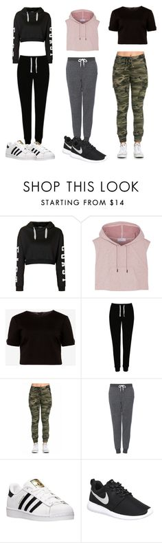 """""""Untitled #5"""" by fellaadjerid123 ❤ liked on Polyvore featuring мода, Topshop, adidas, Ted Baker, George и NIKE"""