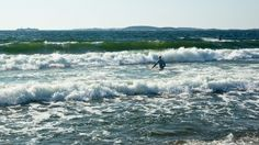 Finland may be a long way from Hawaii but the surf's up in this Nordic country.