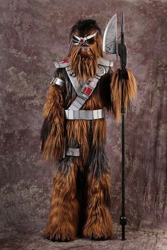 Wookiee bounty hunter