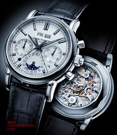 As the ad says, you never really own a Patek Philippe, you simply care for it for the next generation