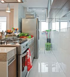 Truques para aproveitar bem o espaço em um apê de 60m2 - Casa