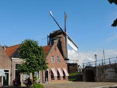 de Molen in Sleat. Friesland. eigen bayke foto. The Netherlands