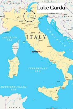 Map of Lake Garda Italy + best places to see   Mama Loves Italy