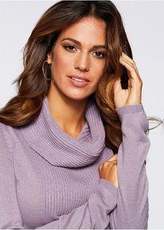 Sweter z golfem Luźniejszy fason z • 59.99 zł • Bon prix