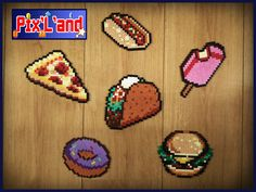 Junk food hama beads by Pix-l-and