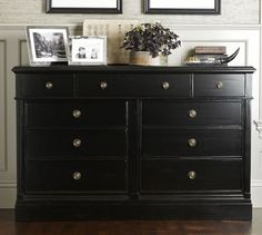 Adorable Extra Wide Dresser With 9 Drawer Storage