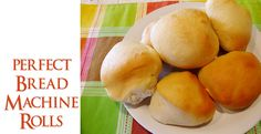 Lovely Little Snippets: Perfect Bread Machine Rolls