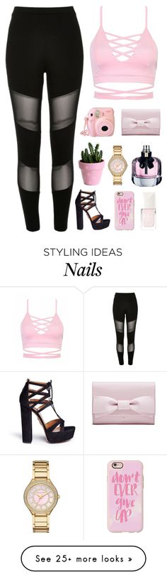 """""""#428"""" by lost-in-a-daydr3am on Polyvore featuring River Island, Casetify, Michael Kors, Fujifilm, Yves Saint Laurent, Christian Dior and Aquazzura"""