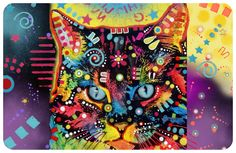 Bungalow Floor Mat by Dean Russo -  $34.00   Shop where every purchase helps shelter pets!
