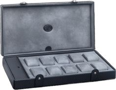 Underwood - 10 Large Watch Storage Box - Carbon | UN5233/CF