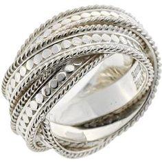 Anna Beck Silver Twist Ring