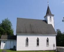 George's Anglican Church was constructed circa 1889 and is located beside Highway 329 in East River, Nova Scotia. The Municipal Heritage Designation applies to the church and surrounding property. Concert Venues, Anglican Church, East River, Construction, Places, Outdoor Decor, Home Decor, Building, Decoration Home