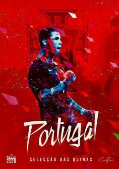 The national football of Portugal with it's star player: Cristiano Ronaldo Football Names, Fifa Football, Football Love, Football Art, Cristiano Ronaldo Wallpapers, Cristiano Ronaldo Cr7, Neymar, World Cup 2018 Teams, Soccer