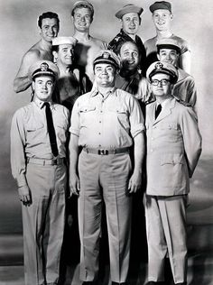 McHale's Navy is an American sitcom    from October 11, 1962, to August 31, 1966  Starring	Ernest Borgnine  Tim Conway  Joe Flynn  Gary Vinson  Carl Ballantine