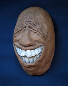 Hilarious ceramic face