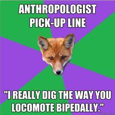 I love pick up lines.