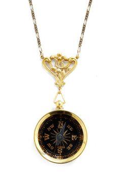 my jewelry to sometimes help me navigate.