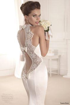 Tarik Ediz White 2014 Bridal Collection — Part 1   Wedding Inspirasi
