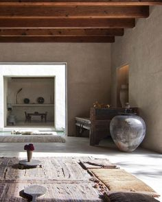 Beautiful interior design, another inspiration from the Philip Dixon house in Venice, California Beautiful Interior Design, Home Interior Design, Interior Architecture, Interior And Exterior, Wabi Sabi, Dixon Homes, Interior Minimalista, Design Minimalista, Tadelakt
