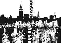 Livingwalls XXL-Tapete New York (M) 032021 online kaufen