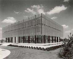 Minoru Yamasaki | Reynolds Metals Regional Sales Office | Michigan, USA | 1959