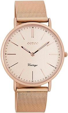 Oozoo Vintage Damen-Armbanduhr Rosé C7399 - http://on-line-kaufen.de/oozoo/oozoo-vintage-damen-armbanduhr-ros-c7399