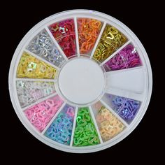 Fimo Nail Art Nails Tip Polymer Clay Decoration Wheel by Craftasy, $2.99