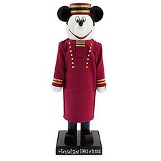 Disney Parks Exclusive Mickey Mouse As Tower of Terror Bellhop 13 Figural Nutcracker Wooden Christmas Ornament >>> Check out the image by visiting the link.