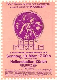 18.3.1973; deep purple; sui, zürich, hallenstadion;