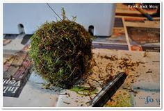 Krek Wak Wou: DIY: rustieke decoratie- en mosballen November 2013, How To Dry Basil, Diys, Projects To Try, Herbs, How To Make, Xmas, Bricolage, Do It Yourself