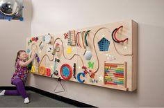 Ideas for interactive Sensory Wall