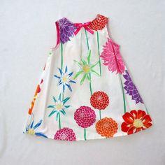 Garden Baby Girl Dress  Toddler Dress  Baby Dress 6M by LoopsyBaby, $24.00