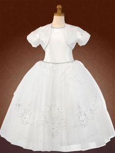 First Holy Communion Dress by Christie Helene Couture - Zoe