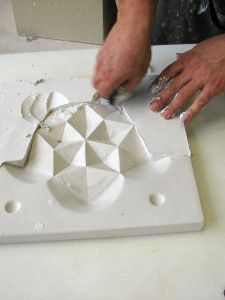 Making molds   the casting floor