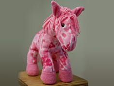 free stuffed horse pattern   Toy Sewing Patterns