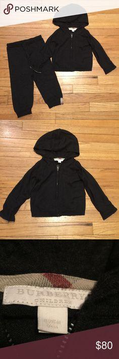 burberry hoodie silver