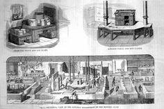 London's Reform Club Kitchen 1841