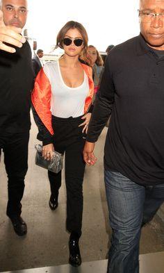 Selena Gomez Takes On the Season's Biggest Street Style Hit