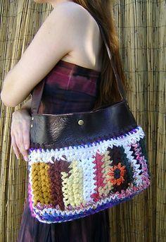 Jose Arellanes one of a kind handbag crochet bag
