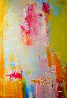 Galleri modern: Når jeg står ved en skille vej... art by gitte cittrup