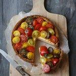Tomato cheesecake