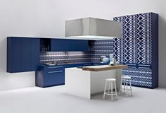 Elmar Cucine | Playground kitchen | designed by Roberto & Ludovica Palomba