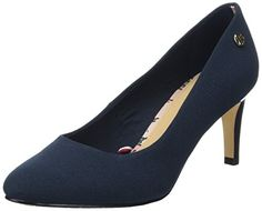 7a36ace56 Tommy Hilfiger Women s L1285isette 1d Closed-Toe Pumps  Amazon.co.uk  Shoes    Bags