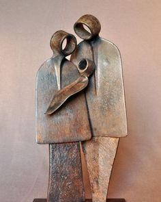 Most current Pic Ceramics projects abstract Ideas Paare – Jean-Pierre Augier Bildhauer , Welding Art Projects, Metal Art Projects, Diy Projects, Metal Welding, Art En Acier, Metal Art Sculpture, Photo Sculpture, Sculpture Ideas, Art Sculptures