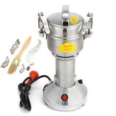 300g High Speed Powdering Machine Electric Herb Grain Grinder Cereal Mill Flour Powder Machine