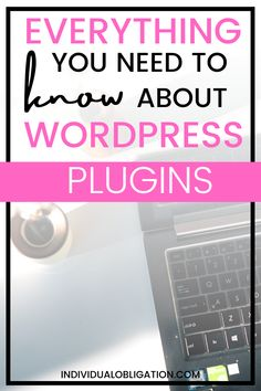 This WordPress blogging for beginners tutorial will show you the blog tips you need to know about for using WordPress plugins on your new blog. WordPress plugins are powerful blogging tools + resources that every blogger should know about to learn how to start a blog in 2021. If you are planning on starting a blog on WordPress then this guide is a must-have to master these blog and WordPress blogging tips for beginners #BloggingTips #BloggingForBeginners #WordPressTips #WordPressPlugins Wordpress Help, Wordpress Website Design, Wordpress Plugins, Creating A Blog, Blogging For Beginners, Make Money Blogging, Blog Tips, How To Start A Blog, Tools